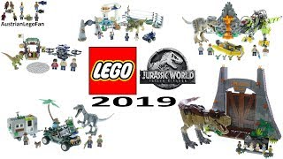 Lego Jurassic World 2019 Compilation of all Sets