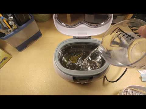 (:Review:) 50Watt Ultrasonic Cleaner for Jewlery & Small Parts