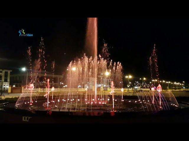 Đón xuân - Thi công nhạc nước Cai Lậy - Tiền Giang