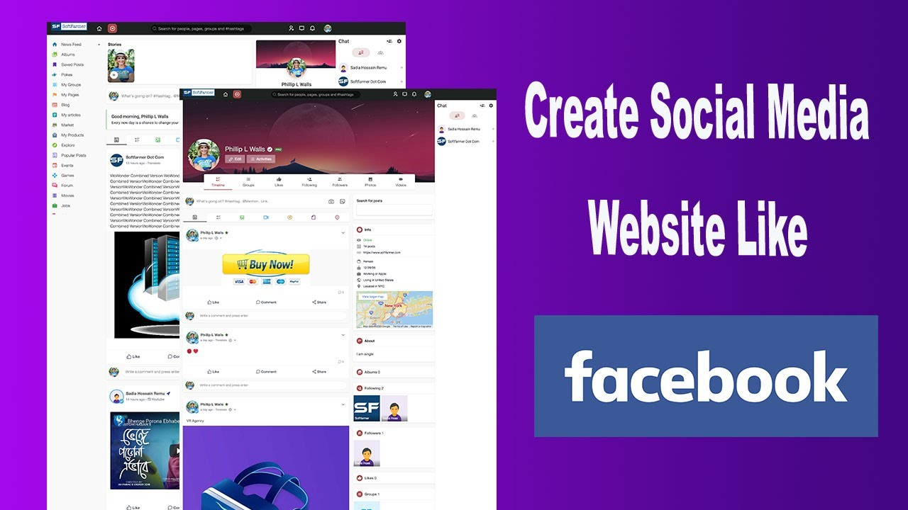 Create your Own Social Media Website like Facebook with WoWonder