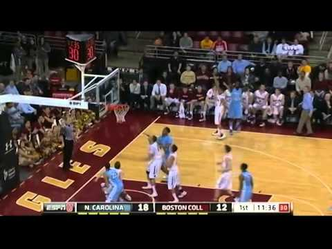 UNC Vs Boston College Highlights
