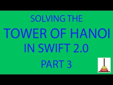 Mac Apps & Algorithms: The Tower of Hanoi, Part 3! (Adding the CUI (Character User Interface))