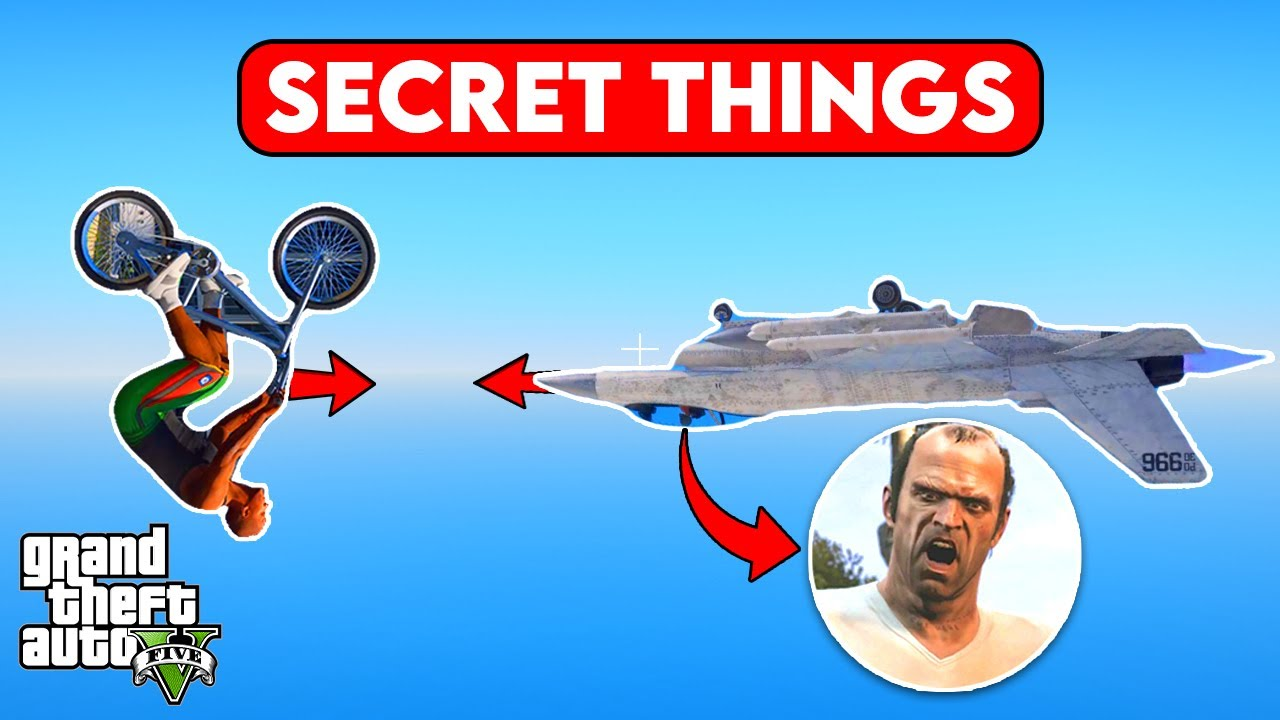 15 *SECRET* Things You Might Have Never Did In GTA 5 Before 😱
