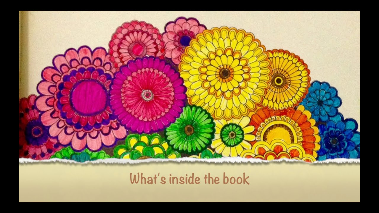 Secret Garden Coloring Book By Johanna Basford Inside The