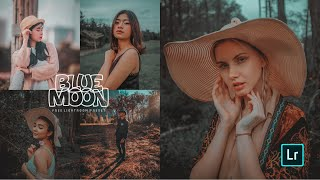 BLUE MOON PRESET | How to edit Professional Photography | Lightroom mobile preset DNG  | MOODY TONE