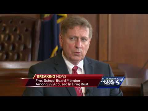 Former school board member, daughter charged in Fayette County drug sweep