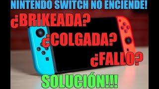 SWITCH NO ENCIENDE, COLGADA? BRIKEADA? SOLUCIÓN!!!