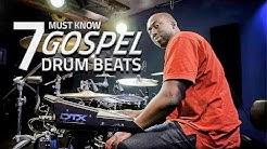 7 Must Know Gospel Drum Beats - Drum Lesson
