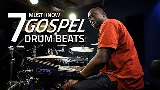 7 Must Know Gospel Drum Beats - Drum Lesson