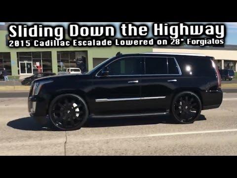 Sliding Down The Highway On 28 Forgiatos