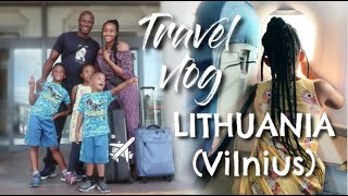 PART 1 | COME WITH US TO LITHUANIA (VILNIUS) TRAVELLING WITH 3 KIDS | FAMILY TRAVEL VLOG