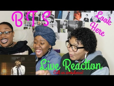 BTS - Look Here REACTION [LIVE]