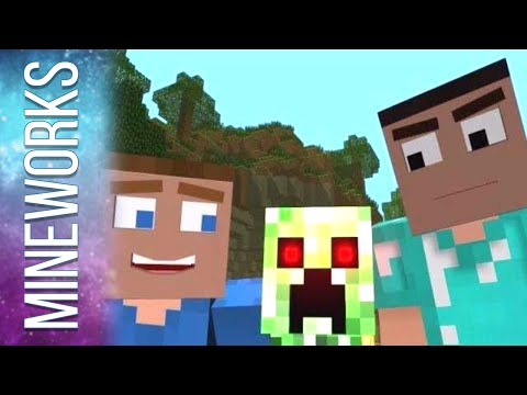 "♫ ""Creepers are Terrible"" - A Minecraft Parody of One Direction"