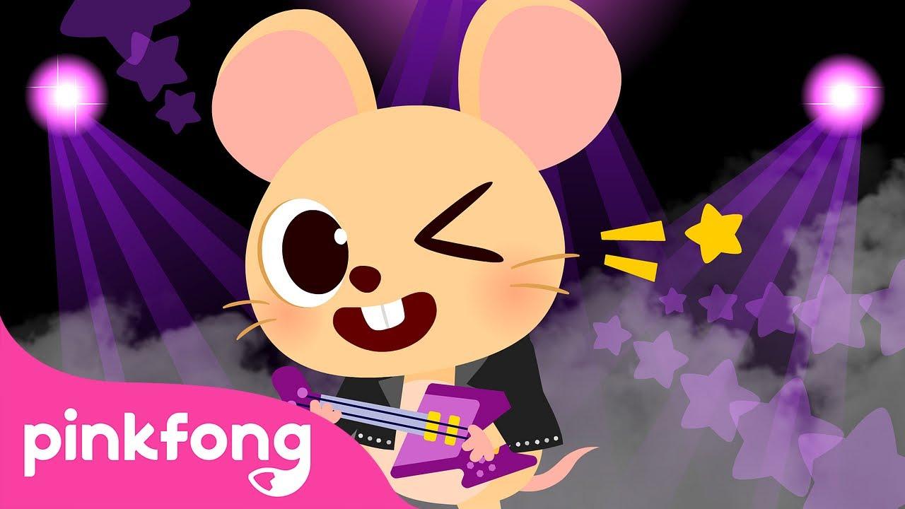 Debajo de un Botón | Animales de la Granja de Pinkfong | Canciones Infantiles