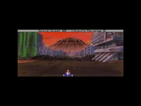 Let's Play Space Quest 4 - Part 2:  Post-Apocalyptic Xenon