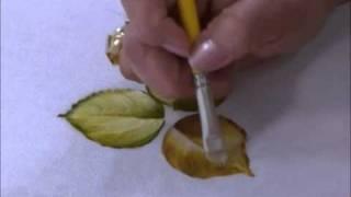 Como pintar folhas