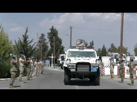 UNFICYP says goodbye to Force Commander Major General Kristin Lund