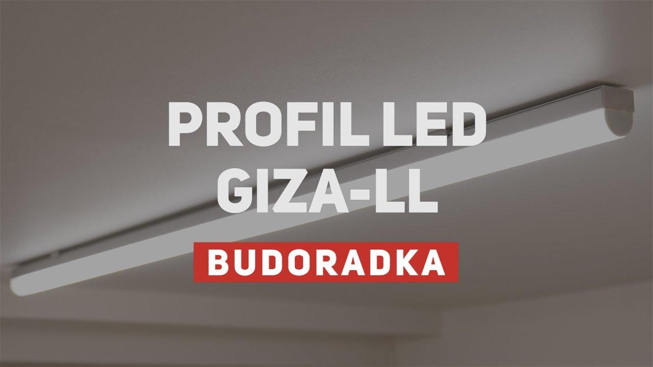 Montaż Oświetlenia Led W Garażu Profil Giza Ll