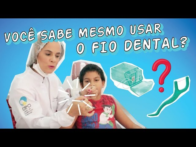 Dra. Paulene Cardoso - Como passar o fio dental