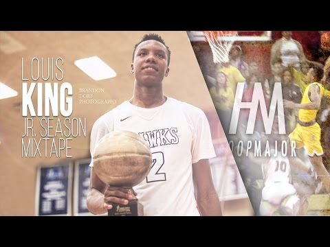 HIGH FLYING Louis King Junior Year Mixtape!! 6'8 Wing from Jersey!