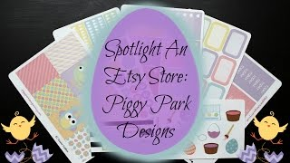 Spotlight An Etsy Store: Piggy Park Designs