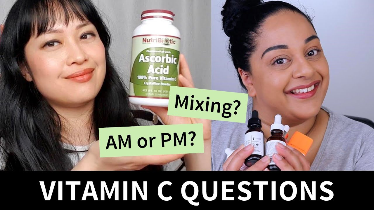 Answering Your Vitamin C Questions with Beck Wynta   Lab Muffin Beauty Science