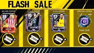 I OPENED FLASH SALE BUNDLE PACKS - Biggest Flash Sale and Master campaign rewards fifa Mobile 19