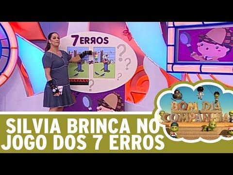 Bom Dia e Cia (01/06/16) - Silvia Abravanel no Jogo dos 7 Erros