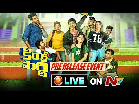 Kirrak Party Pre Release Event LIVE    Nikhil    Samyuktha    Simran Pareenja    NTV
