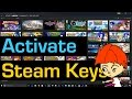 How to Redeem Steam Keys and Gift Cards