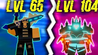 LVL *104* PRO CARRIES LOWER LEVELS IN DUNGEON! (ROBLOX DUNGEON QUEST)