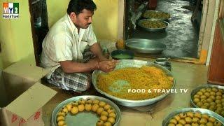 Boondi Laddu    Traditional INDIAN Sweet   STREET FOOD IN INDIA