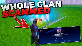 I estafado la comunidad más grande estafa! (Scammer consigue estafado) En Fortnite Save The World Pve