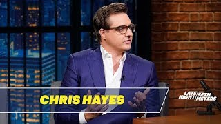 Chris Hayes Dissects What Really Drives Anti-Immigration Politics