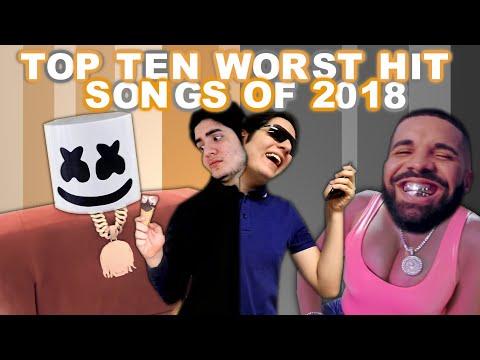 Top Ten Worst Hit Songs of 2018