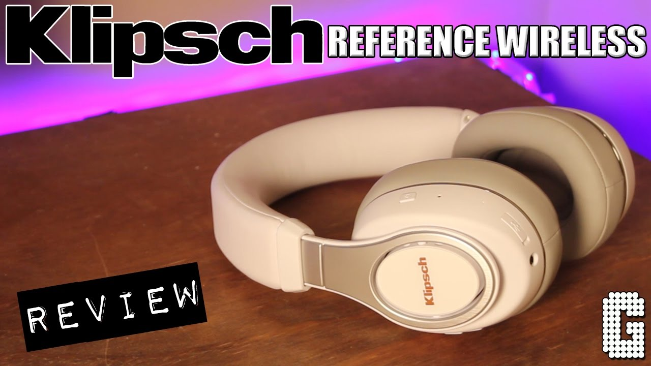 04e5fedfb62 First Look! : Klipsch Reference Wireless Over Ear Headphones REVIEW ...