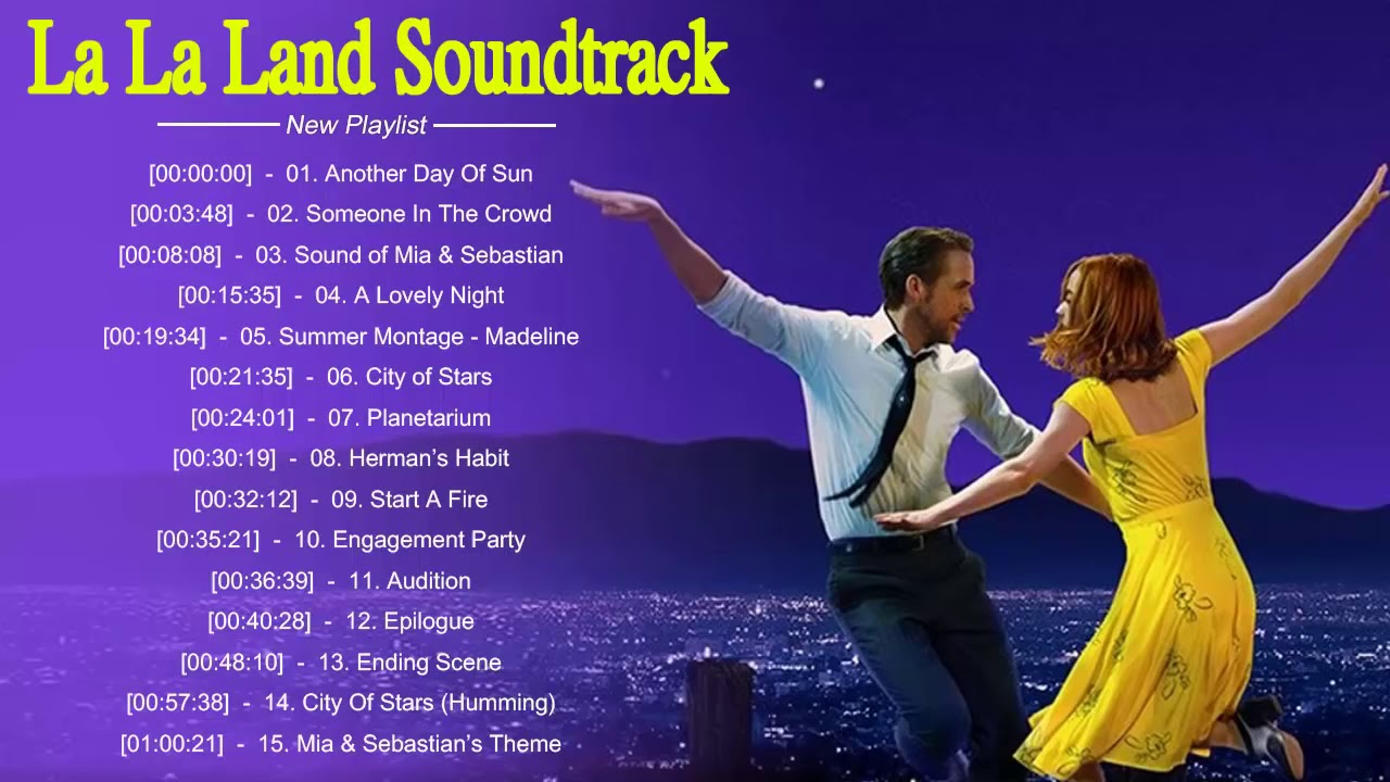 La La Land Full Ost Soundtrack Hq Youtube