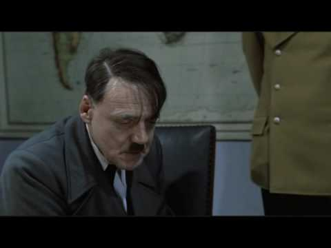 Hitler is informed about a PS3 without Blu ray