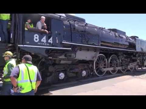 Union Pacific 844 Visits Greeley July 12, 2016