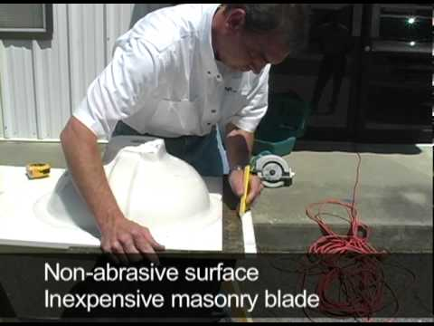 MarCraft, Inc.   How To Trim A Vanity Top