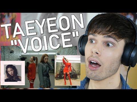 """Reacting To Taeyeon """"VOICE"""""""
