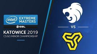CS:GO - North vs. Space Soldiers [Mirage] Map 1 - Group B Elimination - IEM Katowice EU Minor 2019 thumbnail