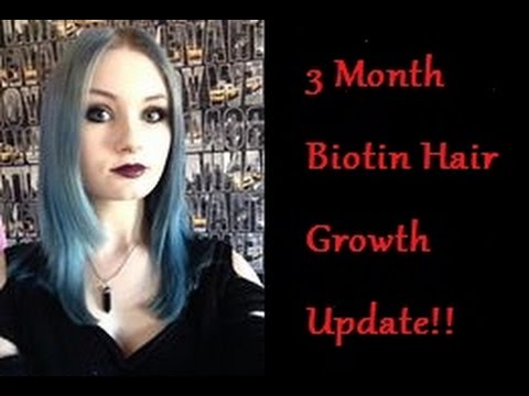 3 Month Biotin Hair Growth Update!! | TheLuciferFallen
