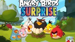 Angry Birds шоколадные яйца Энгри Бердз распаковка Angry Birds chocolate eggs with surprise