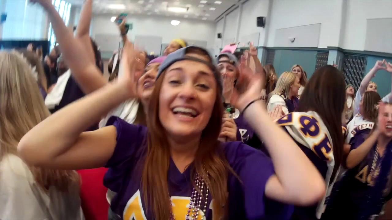 Delta Phi Epsilon WCU Recruitment Fall 2017 - YouTube