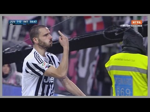Leonardo Bonucci vs Inter (Home) 28/02/2016 | Best Performance of Career | Russian Commentary | HD