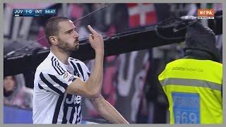 Leonardo bonucci vs inter (home) 28/02/2016 | best performance of career russian commentary hd