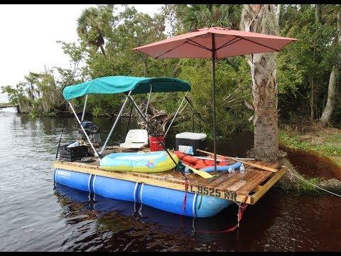 Homemade Pontoon Boat Part 5