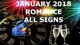 ROMANCE JANUARY 2018 ALL SIGNS