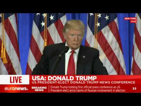 [LIVE] Donald Trump answers the American press' questions